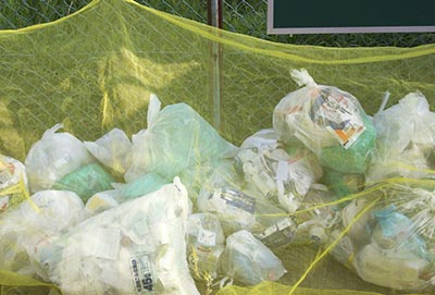 Mocna osłona na wysypiska śmieci