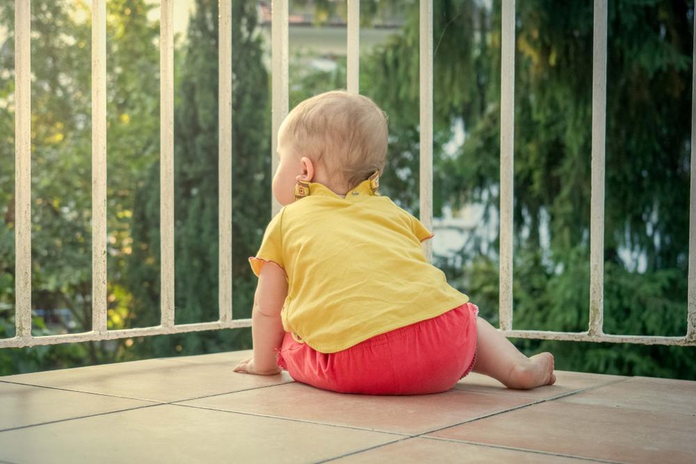 Bezpieczny balkon dla dziecka - Symar
